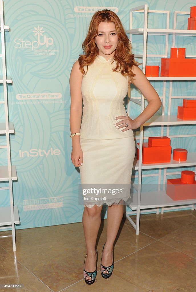 Actress Elena Satine arrives at the Step Up 11th Annual Inspiration Awards at The Beverly Hilton Hotel on May 30, 2014 in Beverly Hills, California.