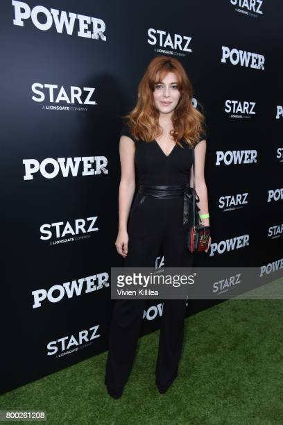 Actress Elena Satine attends STARZ 'Power' Season 4 LA Screening And Party at The London West Hollywood on June 23 2017 in West Hollywood California