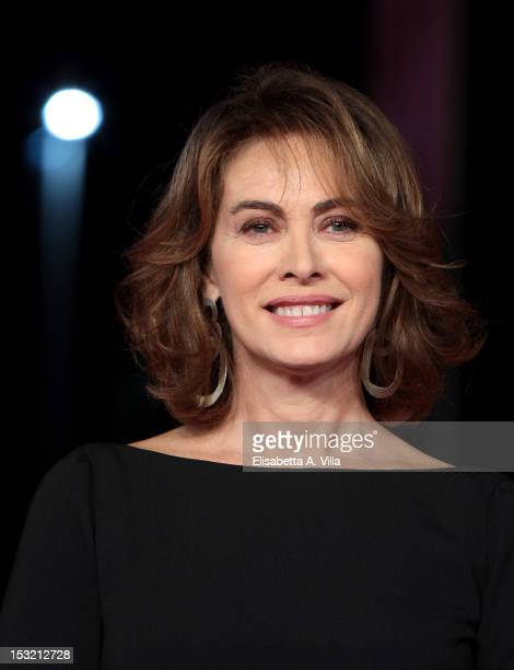 Actress Elena Sofia Ricci attends I Cesaroni 5 Premiere during the 2012 RomaFictionFest at Auditorium Parco della Musica on October 1 2012 in Rome...