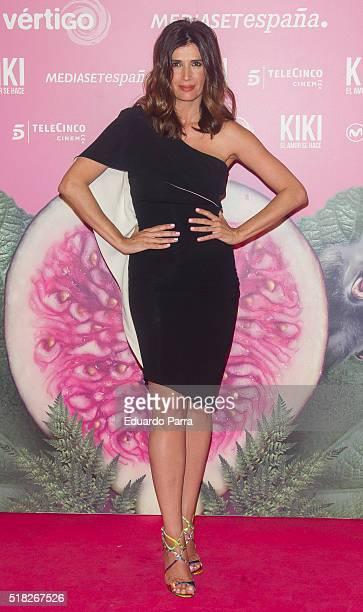 Actress Elia Galera attends 'Kiki el amor se hace' premiere at Capitol cinema on March 30 2016 in Madrid Spain