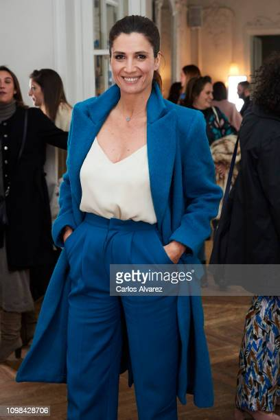 Actress Elia Galera attends the Lexdeux fashion show during the Mercedes Benz Fashion Week Autumn/Winter 20192020 at Club Matador on January 23 2019...