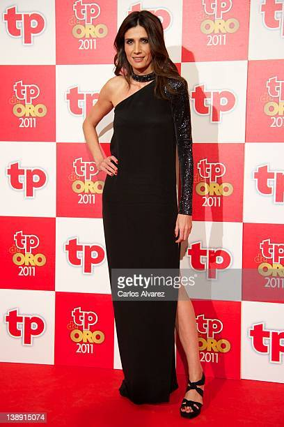 Actress Elia Galera attends TP de Oro Television Awards 2012 at the Canal Theater on February 13 2012 in Madrid Spain