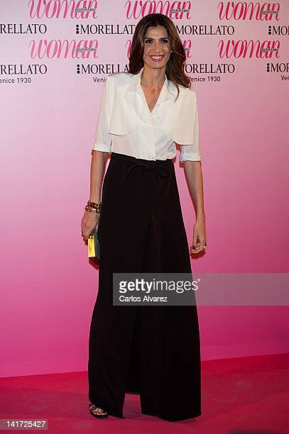 Actress Elia Galera attends Woman Magazine Awards 2012 at French Embassy on March 22 2012 in Madrid Spain