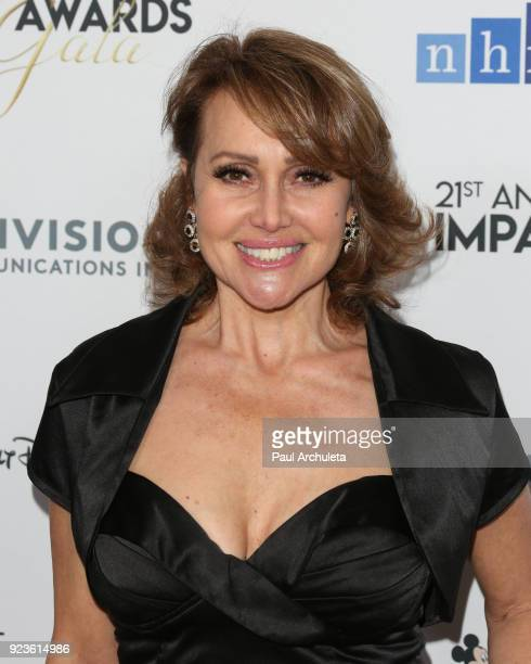 Actress Eliana Alexander attends the National Hispanic Media Coalition's 21st annual Impact Awards at the Beverly Wilshire Four Seasons Hotel on...