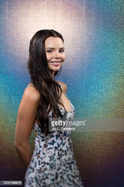 Actress Eline Powell from 'Siren' is photographed for Los Angeles Times on July 19 2018 in San Diego California PUBLISHED IMAGE CREDIT MUST READ Jay...