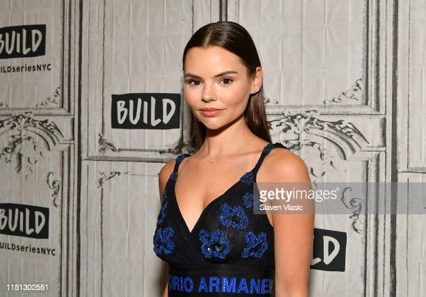 """Actress Eline Powell visits Build Series to discuss TV drama series """"Siren"""" at Build Studio on June 21, 2019 in New York City."""