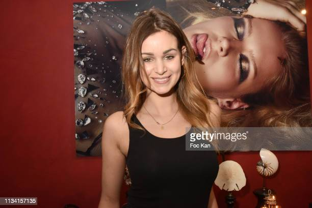 Actress Elisa Bachir Bey attends 'Femmes Fatales ' Mathieu Alterman Book Launch Party at Masha Club on March 06 2019 in Paris France