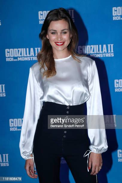 Actress Elisa Bachir Bey attends the Godzilla II Roi des Monstres Premiere at Le Grand Rex on May 26 2019 in Paris France