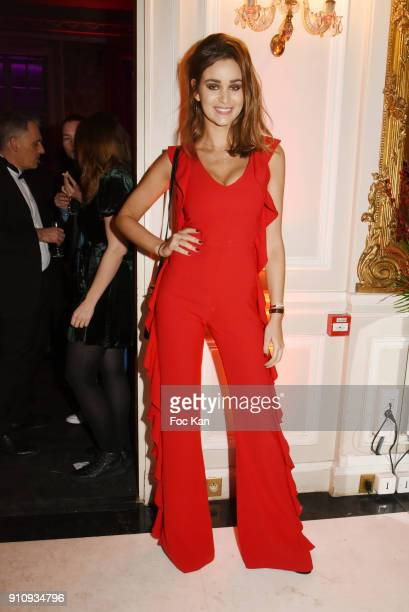 Actress Elisa Bachir Bey attends the The Couture Ball Le Jean Paul Benielli Show Party at Le Mona Bismarck on January 26 2018 in Paris France