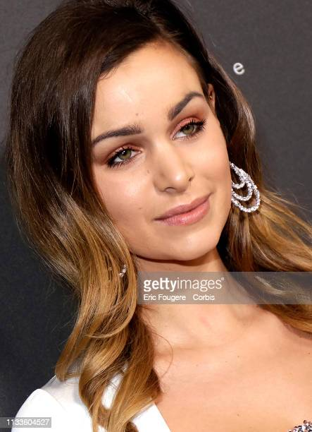Actress Elisa Bachir Bey poses during a portrait session in Paris France on