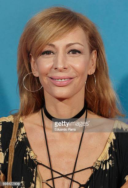 Actress Elisa Matilla attends the 'Cuerpo de Elite' premiere at Capitol cinema on August 25 2016 in Madrid Spain