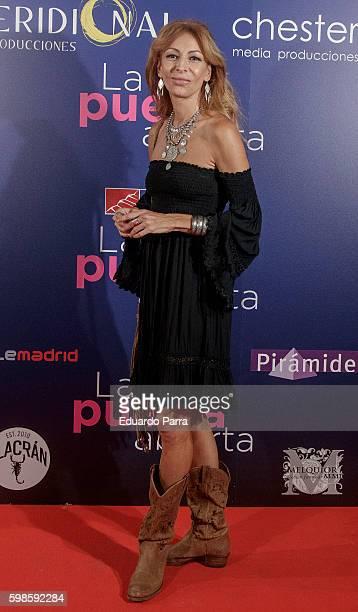 Actress Elisa Matilla attends the 'La puerta abierta' premiere at Palacio de la prensa cinema on September 1 2016 in Madrid Spain