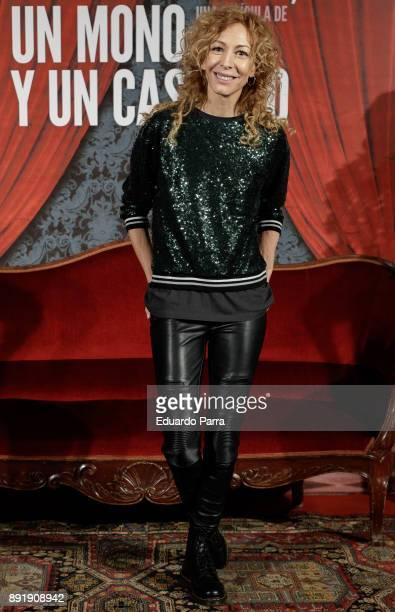 Actress Elisa Matilla attends the ''Muchos Hijos Un Mono Y Un Castillo' premiere at Callao cinema on December 13 2017 in Madrid Spain