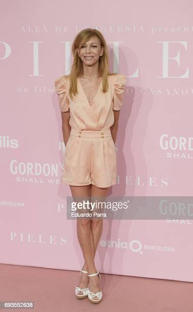 Actress Elisa Matilla attends the 'Pieles' premiere at Capitol cinema on June 7 2017 in Madrid Spain