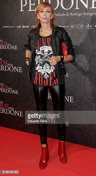 Actress Elisa Matilla attends the 'Que Dios nos perdone' photocall at Capitol cinema on October 26 2016 in Madrid Spain