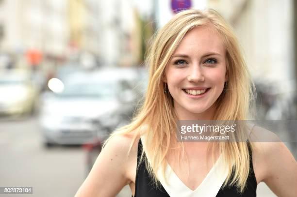 Actress Elisa Schlott attends the 'Fremde Tochter' Premiere during Film Festival Munich 2017 at Arri Kino on June 28, 2017 in Munich, Germany.
