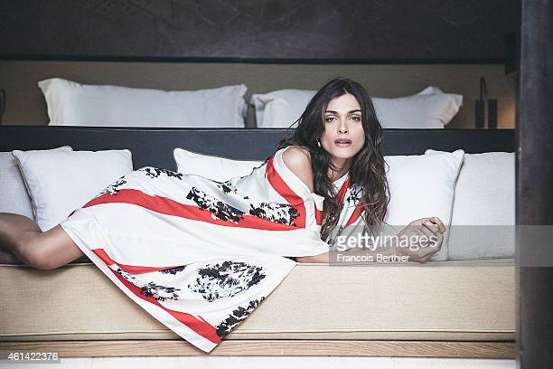 Actress Elisa Sednaoui is photographed for Self Assignment on December 11 2014 in Marrakech Morocco
