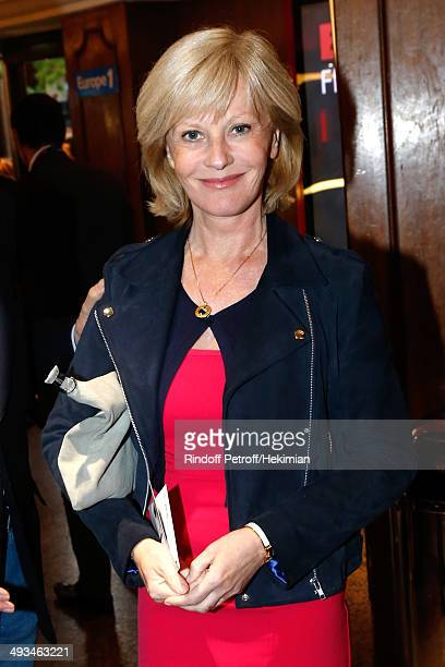 Actress Elisa Servier attends the 'Bigard Fete Ses 60 Ans' One Man Show at Le Grand Rex on May 23 2014 in Paris France