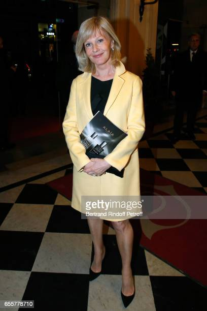 Actress Elisa Servier attends the Enfance Majuscule 2017 Charity Gala for the benefit of abused childhood Held at Salle Gaveau on March 20 2017 in...