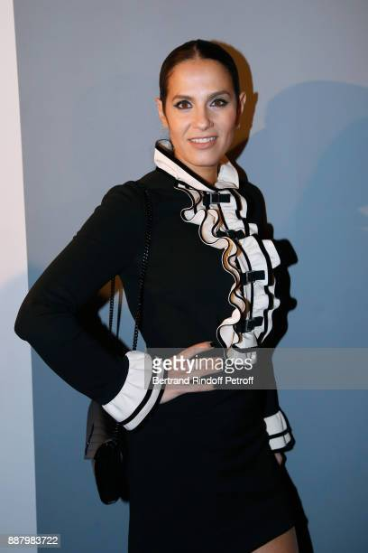 Actress Elisa Tovati attends the Annual Charity Dinner hosted by the AEM Association Children of the World for Rwanda at Pavillon Ledoyen on December...