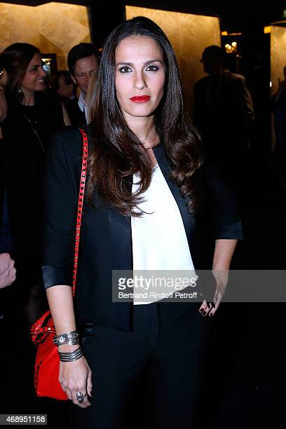 Actress Elisa Tovati attends the 'Paris Merveilles' Lido New Revue Opening Gala on April 8 2015 in Paris France