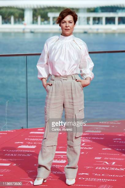 Actress Elisabet Gelabert attends 'Gigantes' photocall during the 22th Malaga Film Festival on March 18 2019 in Malaga Spain