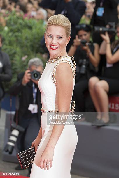 Actress Elisabeth Banks attends the opening ceremony and premiere of the movie 'Everest' during the 72nd Venice Film Festival on September 2 2015 in...