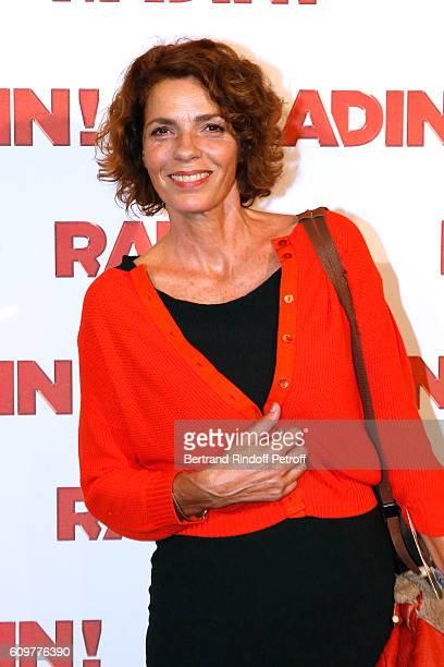 Actress Elisabeth Bourgine attends the Radin Paris Premiere at Cinema Gaumont Opera on September 22 2016 in Paris France