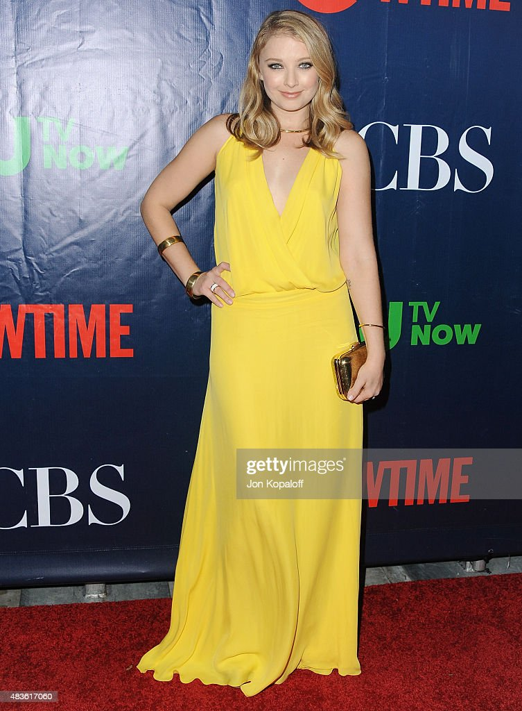 CBS, CW And Showtime 2015 Summer TCA Party - Arrivals : News Photo