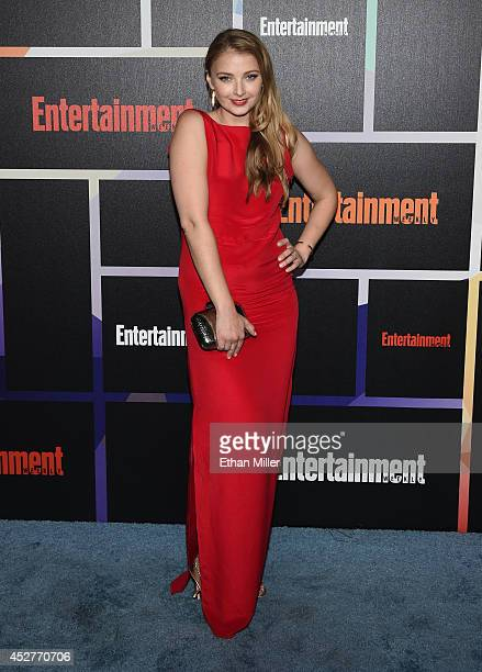 Actress Elisabeth Harnois attends Entertainment Weekly's annual ComicCon celebration at Float at Hard Rock Hotel San Diego on July 26 2014 in San...