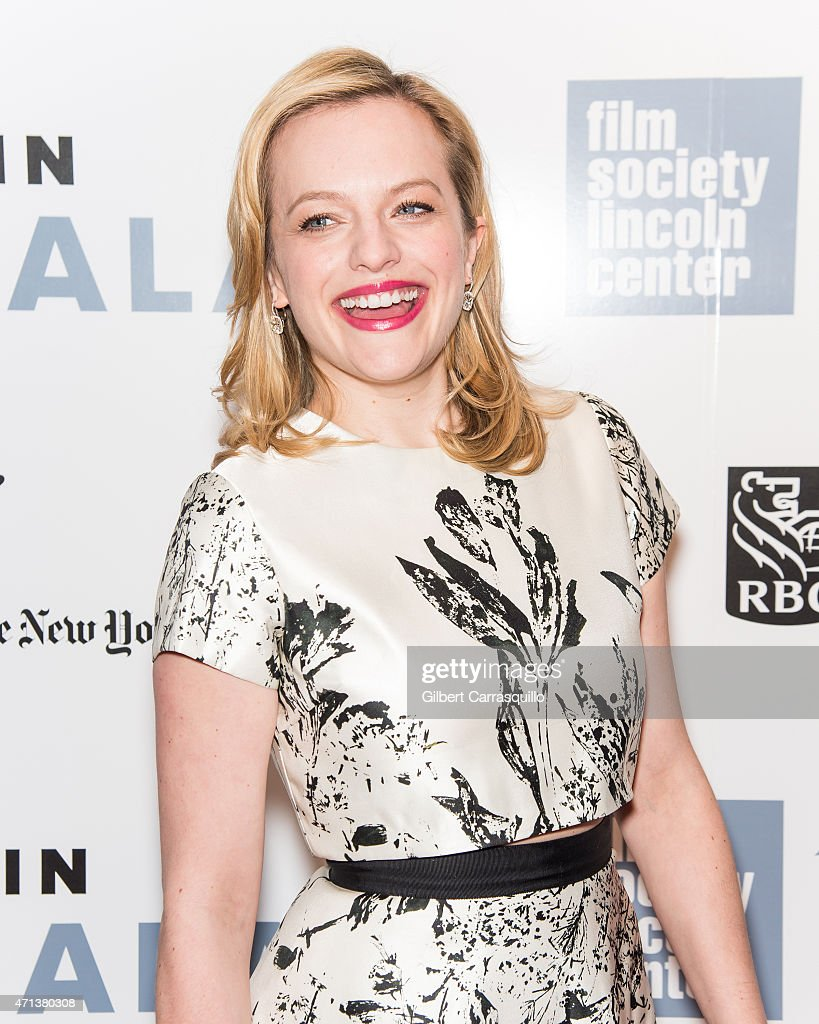 Actress Elisabeth Moss attends the 42nd Chaplin Award Gala at Alice Tully Hall, Lincoln Center on April 27, 2015 in New York City.