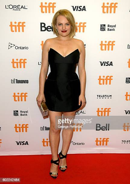 Actress Elisabeth Moss attends 'The Bleeder' premiere during the 2016 Toronto International Film Festival at Princess of Wales Theatre on September...