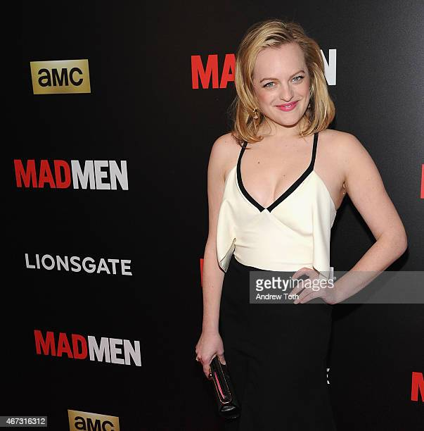 Actress Elisabeth Moss attends the 'Mad Men' New York special screening at The Museum of Modern Art on March 22 2015 in New York City
