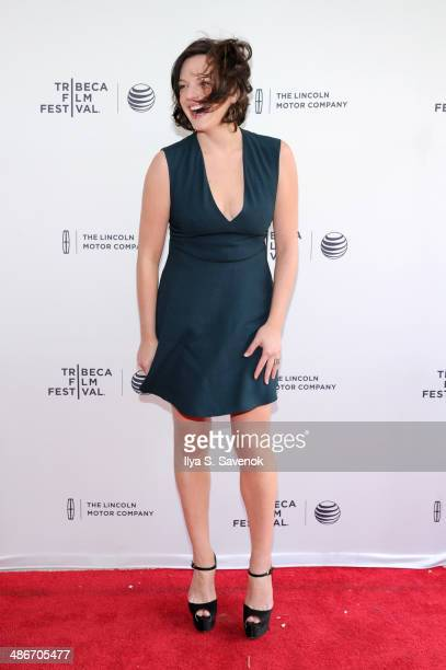Actress Elisabeth Moss attends The One I Love Premiere during the 2014 Tribeca Film Festival at the SVA Theater on April 25 2014 in New York City