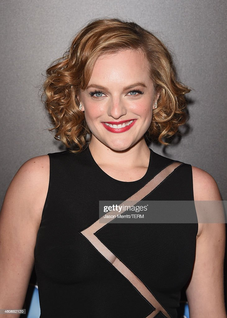 Actress Elisabeth Moss attends the PEOPLE Magazine Awards at The Beverly Hilton Hotel on December 18, 2014 in Beverly Hills, California.
