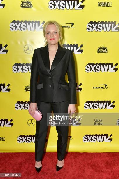Actress Elisabeth Moss attends the premiere of Her Smell during the 2019 SXSW Conference and Festivals at ZACH Theatre on March 09 2019 in Austin...
