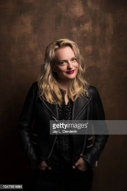 Actress Elisabeth Moss from 'Her Smell' is photographed for Los Angeles Times on September 10 2018 in Toronto Ontario PUBLISHED IMAGE CREDIT MUST...