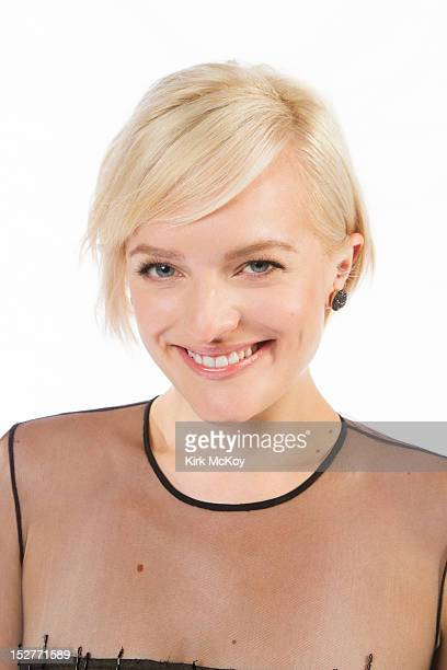 Actress Elisabeth Moss is photographed for Los Angeles Times on September 22 2012 in Los Angeles California PUBLISHED IMAGE CREDIT MUST BE Kirk...