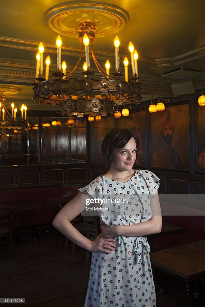 Actress Elisabeth Moss is photographed for Los Angeles Times on March 1, 2013 in Los Angeles, California. PUBLISHED IMAGE.