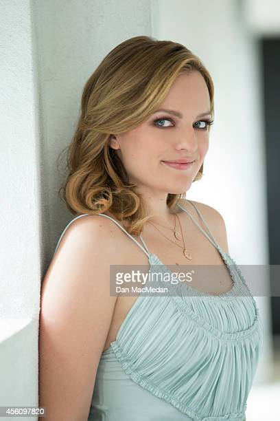 Actress Elisabeth Moss is photographed for USA Today on August 7 2014 in Los Angeles California