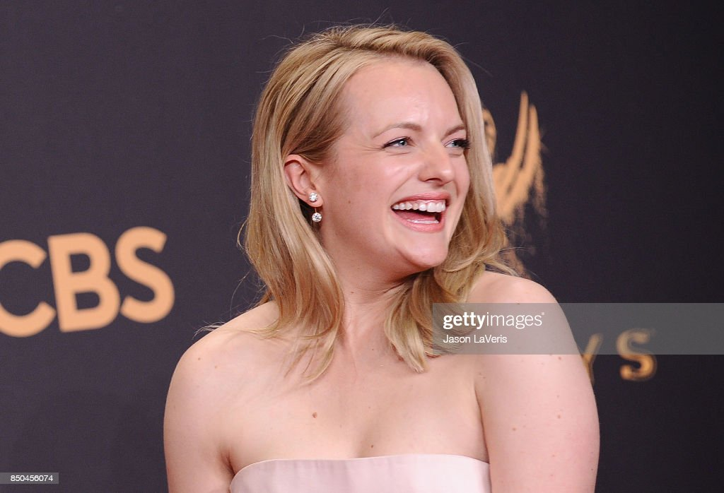 Actress Elisabeth Moss poses in the press room at the 69th annual Primetime Emmy Awards at Microsoft Theater on September 17, 2017 in Los Angeles, California.