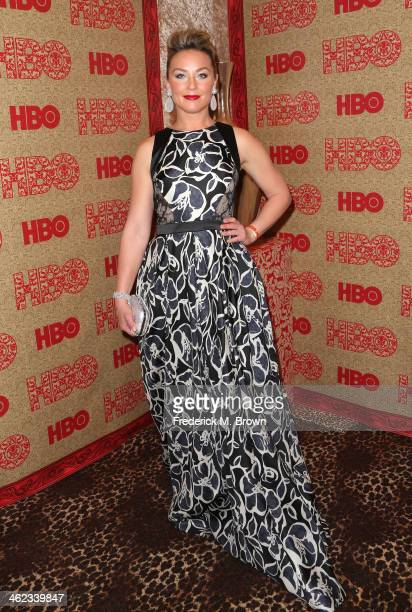 Actress Elisabeth Röhm attends HBO's Post 2014 Golden Globe Awards Party held at Circa 55 Restaurant on January 12 2014 in Los Angeles California