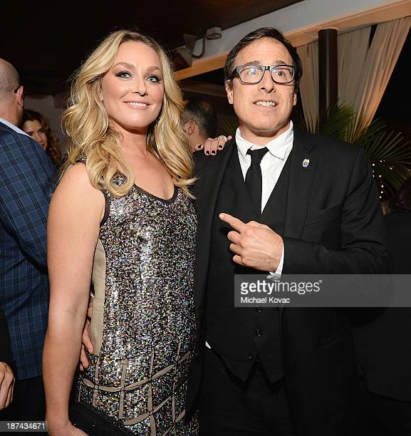 Actress Elisabeth Rohm and director David O Russell attend the reception for the Special Tribute An Evening With David O Russell at AFI FEST 2013...