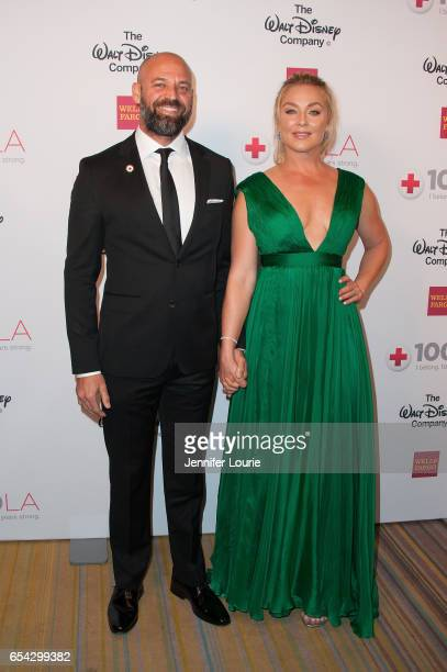 """Actress Elisabeth Rohm and guest attend the American Red Cross Centennial Celebration to Honor Disney as the """"Humanitarian Company of The Year"""" at..."""