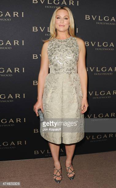 Actress Elisabeth Rohm arrives at BVLGARI Decades Of Glamour Oscar Party Hosted By Naomi Watts at Soho House on February 25 2014 in West Hollywood...