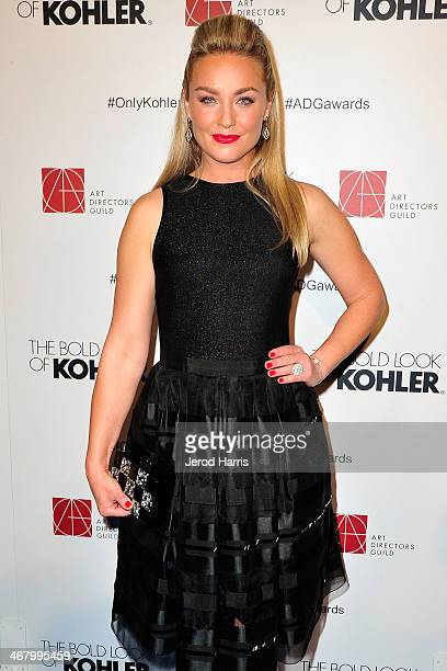 Actress Elisabeth Rohm arrives at the 18th Annual Art Directors Guild Excellence in Production Design Awards at The Beverly Hilton Hotel on February...