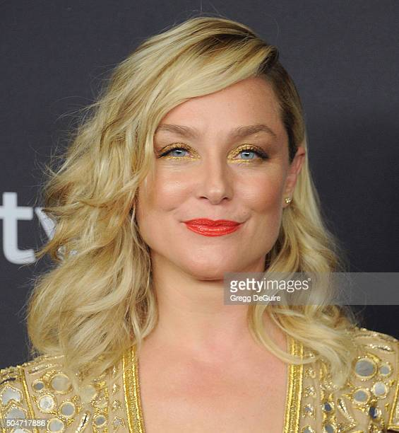 Actress Elisabeth Rohm arrives at the 2016 InStyle And Warner Bros 73rd Annual Golden Globe Awards PostParty at The Beverly Hilton Hotel on January...