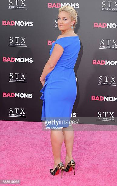 Actress Elisabeth Rohm arrives at the Los Angeles Premiere 'Bad Moms' at Mann Village Theatre on July 26 2016 in Westwood California