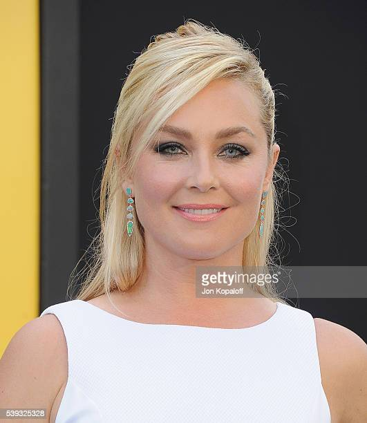 Actress Elisabeth Rohm arrives at the Los Angeles Premiere Central Intelligence at Westwood Village Theatre on June 10 2016 in Westwood California