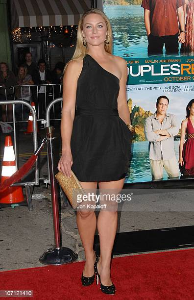 Actress Elisabeth Rohm arrives at the Los Angeles Premiere 'Couples Retreat' at Mann's Village Theatre on October 5 2009 in Westwood Los Angeles...